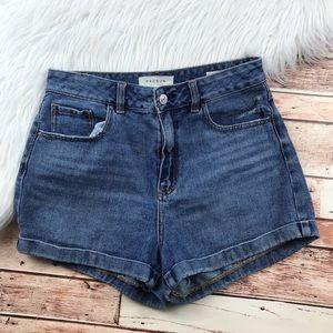 PAC Sun mom jean shorts hi rise